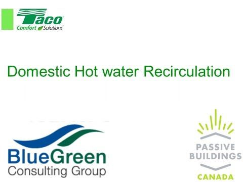Taco Domestic Hot Water Recirculation