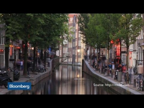 Top Photos: Amsterdam Creating 3D Printed Bridge