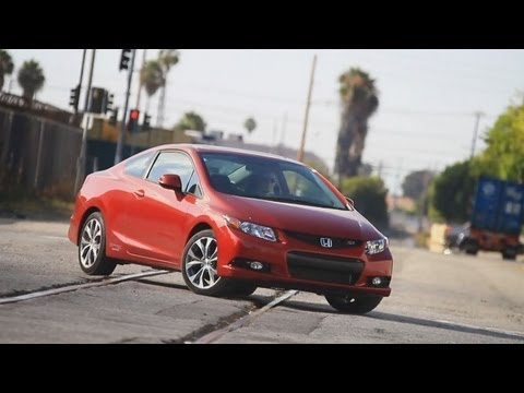 2012 honda civic si review kelley blue book youtube. Black Bedroom Furniture Sets. Home Design Ideas