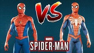 Spider-Man Ps4 - Advanced Suit Vs. Classic Suit