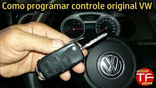 Programando controle alarme original VW Golf ,Fox ,Polo ,Gol ,Parati ,Saveiro , Santana