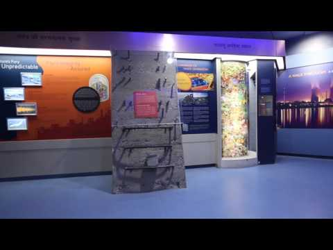 """The glance of """"Hall of Nuclear Power"""" New Delhi with Musical Walkthrough."""