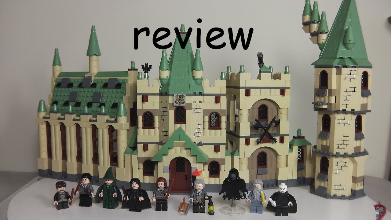 lego harry potter hogwarts castle 4842 time lapse stop motion build and review from 2010 youtube. Black Bedroom Furniture Sets. Home Design Ideas