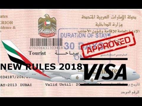 Good news UAE residence || new visa rules 2018 | overstay tourist visa Extend UAE Visit Visa