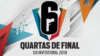 [QUARTAS DE FINAL] Six Invitational 2018 | Playoffs | AO VIVO - Rainbow Six Siege