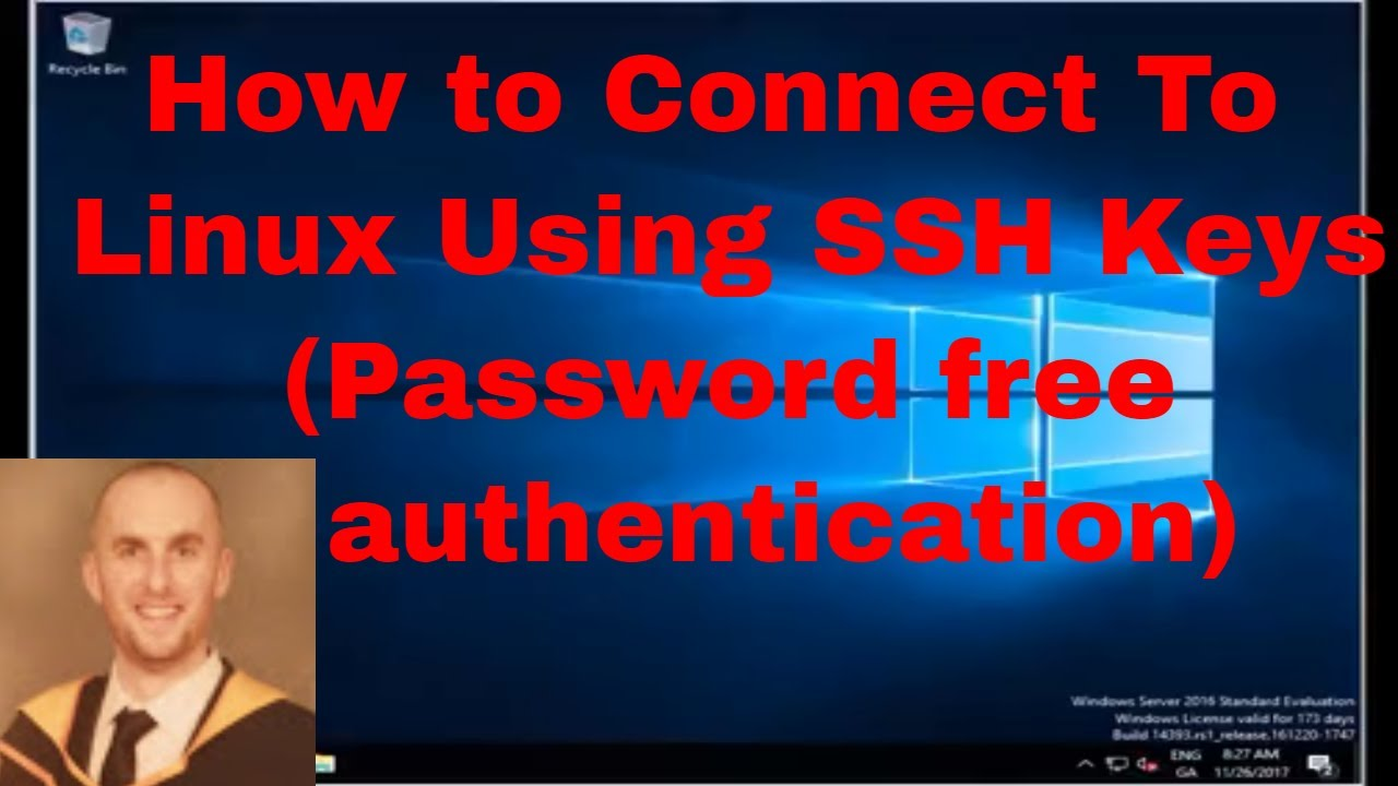 How to Connect To Linux (CentOs 7) Using SSH Keys (Password free  authentication) from Windows