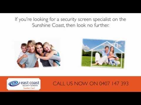 Security Screens Sunshine Coast - 0407 147 393