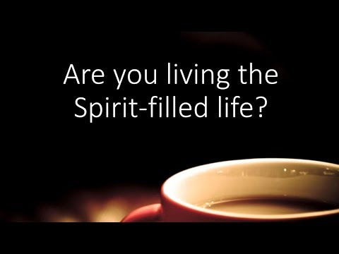 Disciples are Spirit-filled