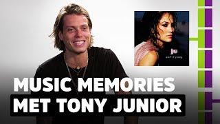 Tony Junior zette zijn eerste tattoo toen hij twaalf was!   Music Memories #1