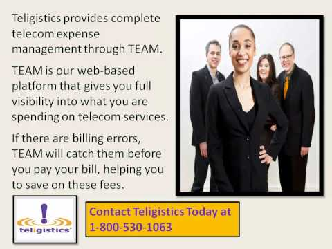 Enjoy Better Telecom Bill Management with TEAM from Teligistics
