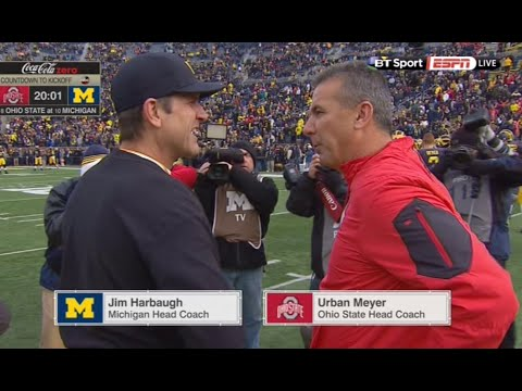 Ohio State vs Michigan Full game 11.28.2015 NCAA football