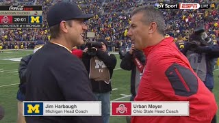 Ohio State vs Michigan Full game 11.28.2015 NCAA football
