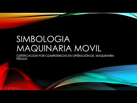 SIMBOLOGIA MAQUINARIA PESADA EXCAVADORAS Y CARGADORES