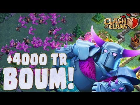 "Clash of Clans TOP FR à +4000 TR ON VA CASSER DU ""NOOB"" 😂"