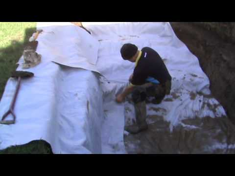 Making A Koi Pond Koi Pond Construction Doovi
