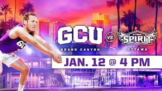 GCU Men's Volleyball vs. Ottawa Jan 12, 2019