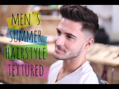 Mens Summer Hairstyle