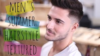 Men S Summer Hairstyle 2016 Texture Hair Youtube