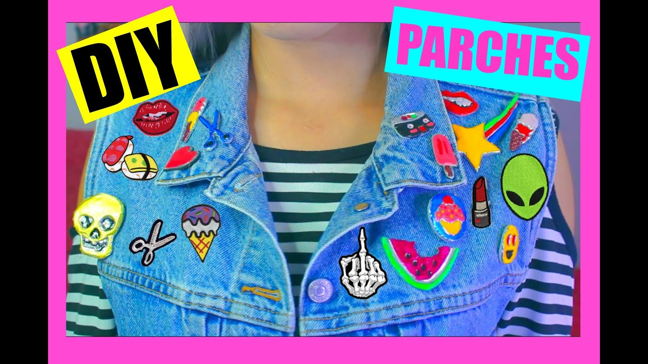 Diy Parches Para Ropa Youtube