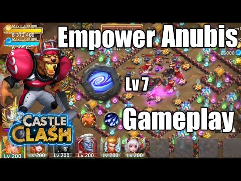 Anubis With Lv 7 Empower Insignia | Castle Clash