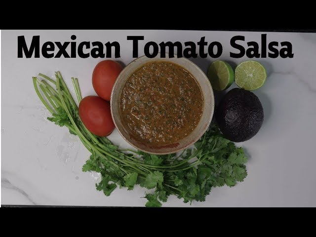 Most Amazing Tasting Tomato Salsa - Mexican