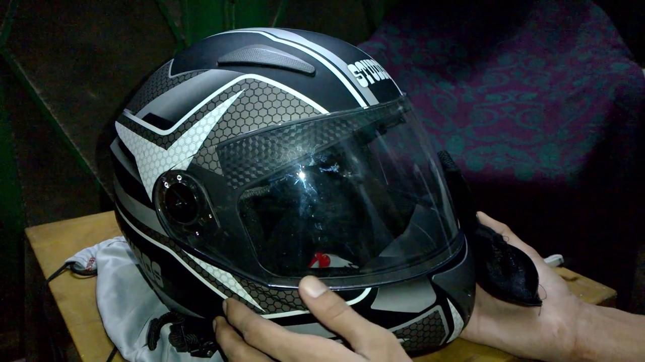 Studds Shifter Helmet Review Youtube: Studds Shifter D8 N4 Series Helmet & Probiker Leather