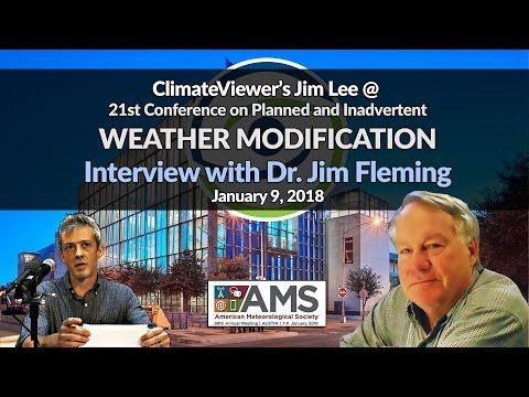 Dr. Jim Fleming and Jim Lee on a Weather Warfare Solution