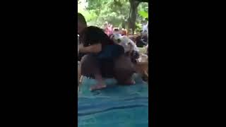 hot traditional dance from bali