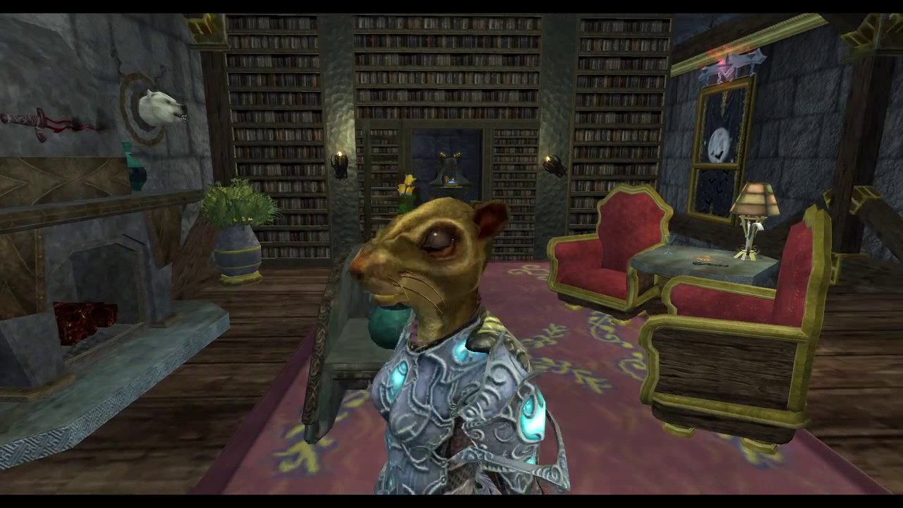 EQ2 Decorating - Grimwood Estate - Freeblood Portal - Maj'Dul