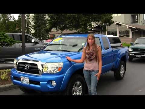 Virtual Walk Around Video of a 2006 Toyota Tacoma TRD SR5 4x4 at Titus Will Ford in Tacoma