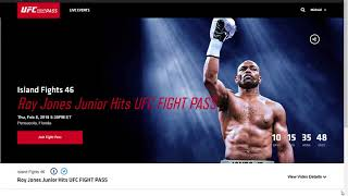 Roy Jones Jr. vs Scott Sigmon. Join Fights with Friends for Roy's last fight!