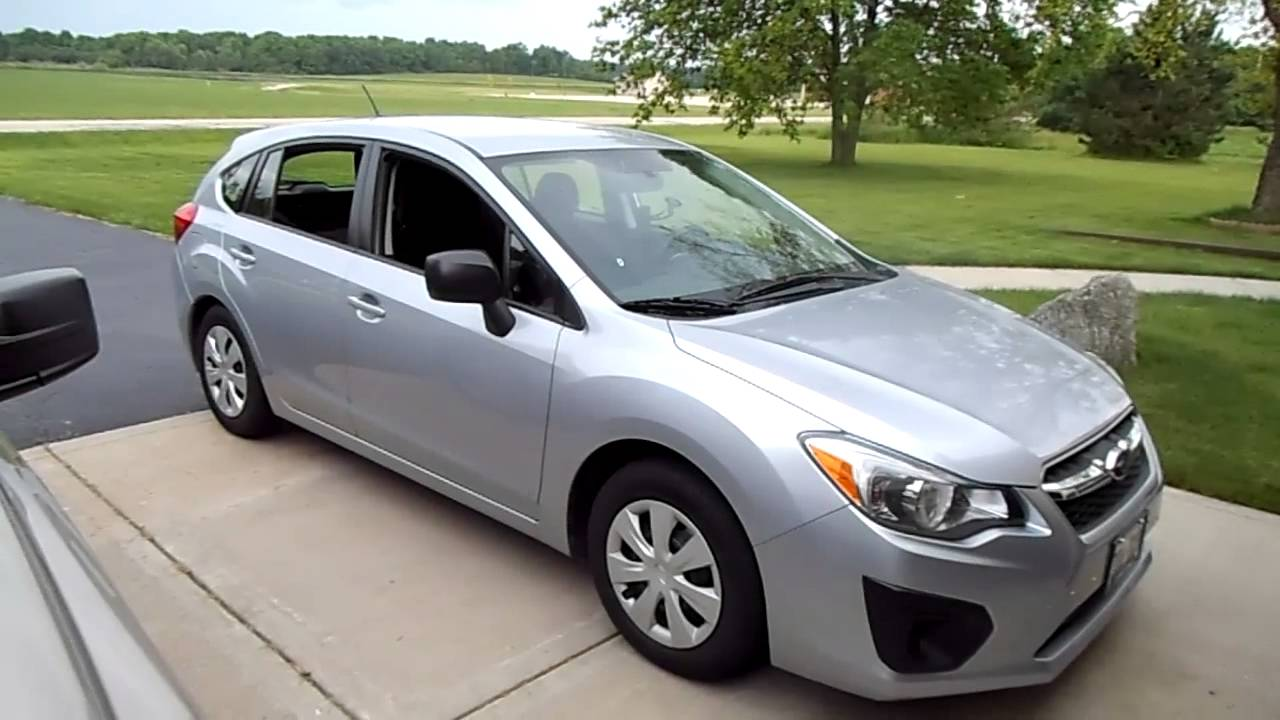 2013 subaru impreza hatch back review youtube vanachro Images