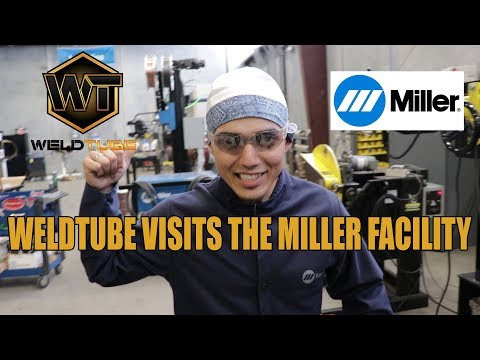 WeldTube Visits the Miller Facility in Houston Texas.