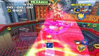 Sonic Heroes Super Sonic, Shadow & Metal Sonic VS Team Rose