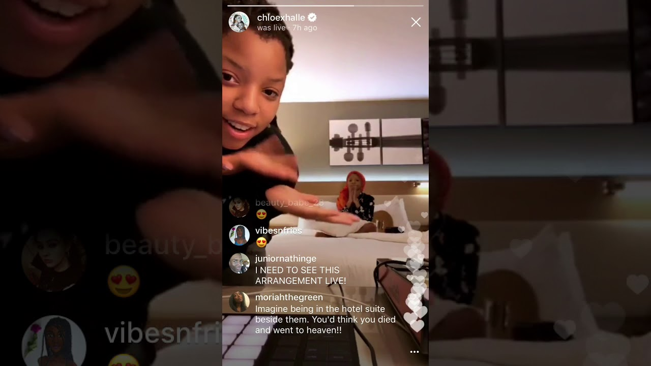 4f36066015b Chloe x Halle rehearsing for their SXSW performance - YouTube
