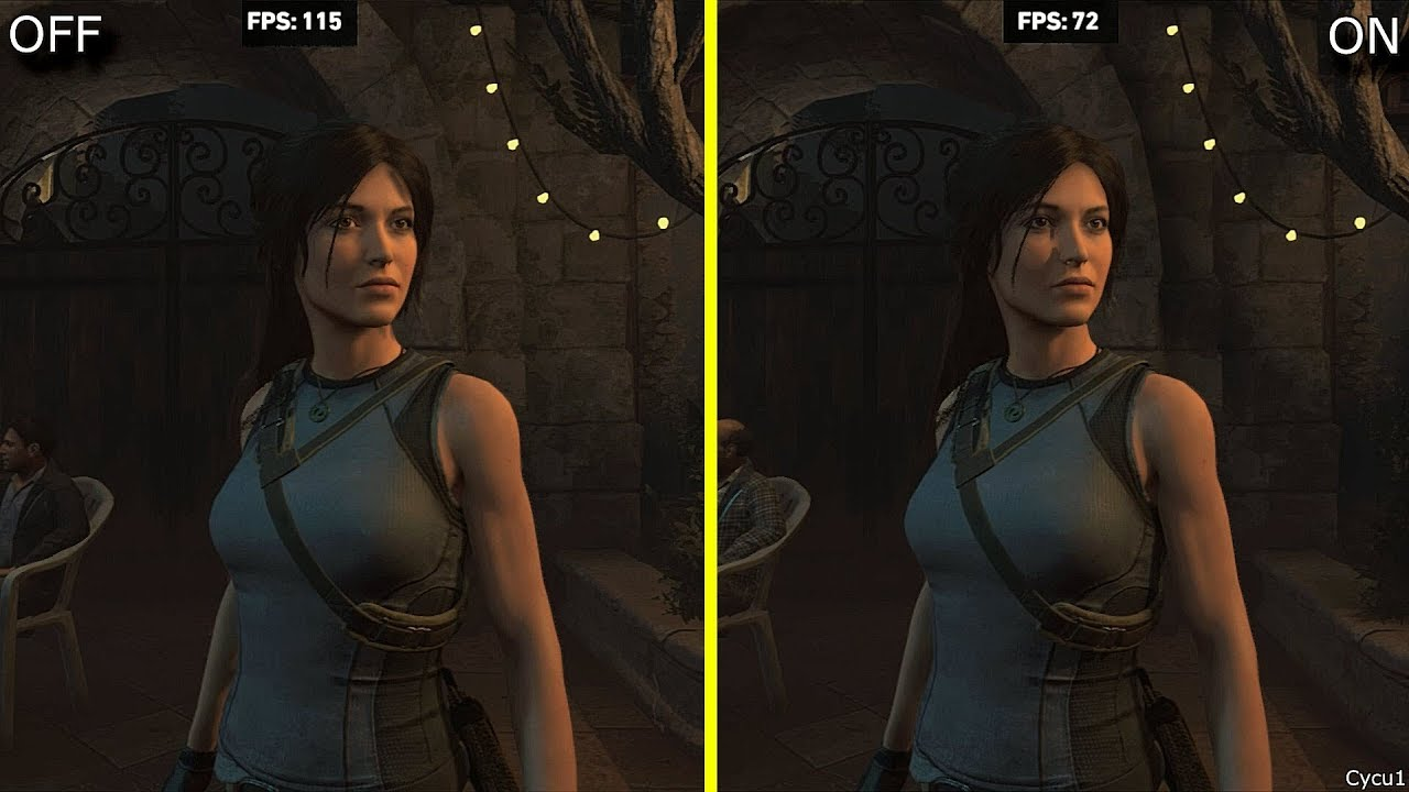 Shadow of the Tomb Raider Ray Tracing ON vs OFF RTX 2080 Ti Benchmark  Frame-Rate Test