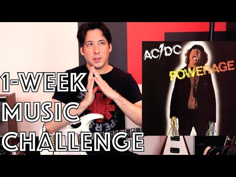 Will You Take This 1 Week Music Challenge With Me Youtube