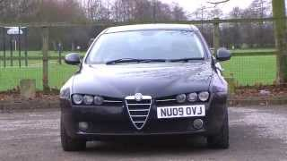 Alfa Romeo 159 SPORTWAGON 1.9JTDM Lusso 5dr + RED LEATHER + BLUETOOTH