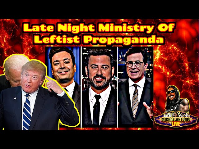 Late Night Comedy Is BAD! These Shows Are Propaganda!