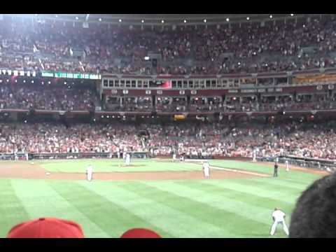 Homer Bailey's Final Out of No-Hitter