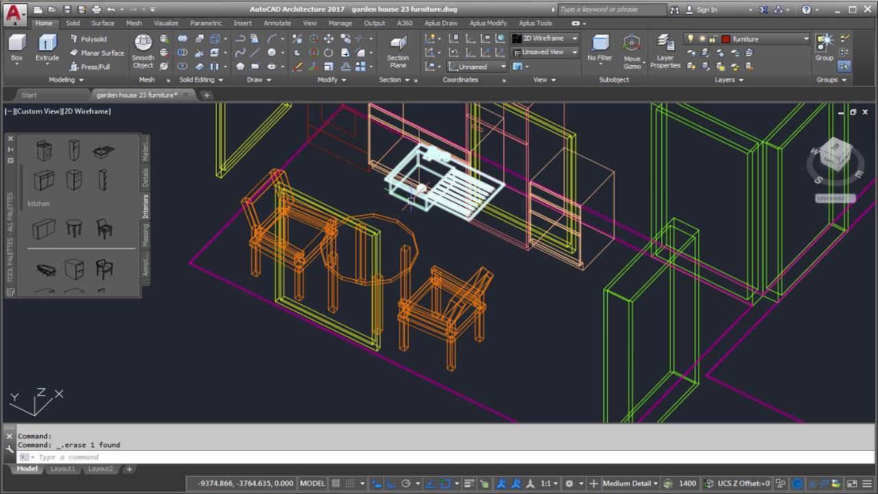 Autocad architecture 3d house modeling tutorial part 15 for Home architecture cad