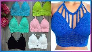 Crop Tops Tejidos Variedad De Modelos Y Colores