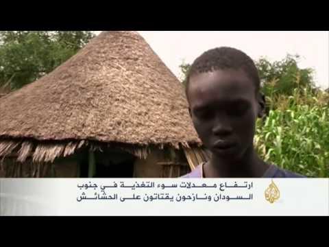 تحذير من نفاد مخزون غذاء النازحين بجنوب السودان