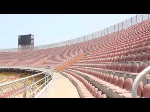 Dilapidated Accra sports stadium renovation on hold