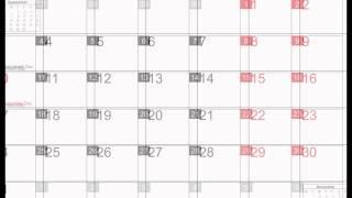 October 2016 Calendar Printable with holidays [PDF, JPEG]