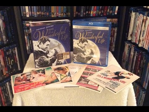 It's a Wonderful Life: Platinum Edition BLU RAY UNBOXING and Review