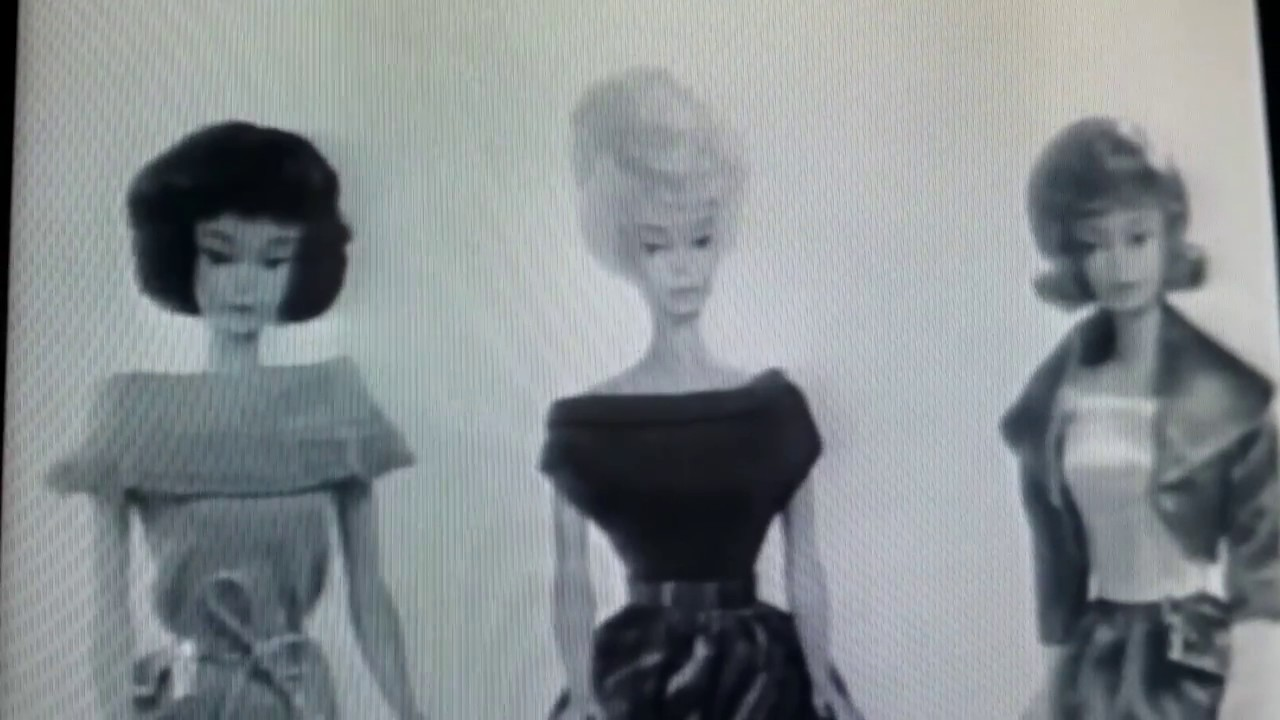 1964 Fashion Queen Barbie Commercial   YouTube 1964 Fashion Queen Barbie Commercial