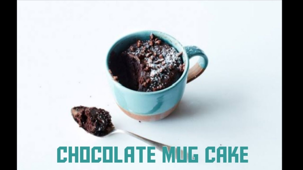 Chocolate Mug Cake Recipe | Mug Cake in Microwave Oven ...