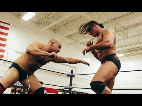 "Chris Dickinson vs. Rene Dupree - Limitless Wrestling ""Hysteria"" (Beyond, Evolve, W-1)"