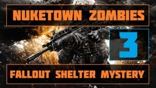 Black Ops 2 Nuketown Zombies | Fallout Shelter Easter Egg | Part 3 (MARLTON'S QUOTES!)